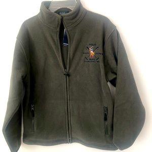 POLO RALPH LAUREN boy fleece JACKET Coat NWT 12/14